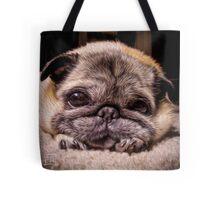 Pug Eyes Tote Bag