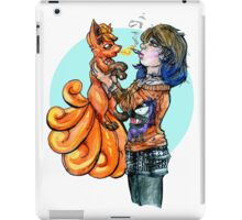 Pokemon Trainer Fires One Up iPad Case/Skin