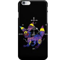 occult umbreon black circle iPhone Case/Skin