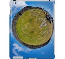 Fortified Ball - Inside Dun Aengus stone fort iPad Case/Skin