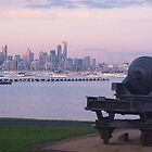 Williamstown cannon facing the Bay by visualimagery
