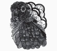 Greyscale Conure by HiddenStash