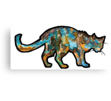 Space in Cat Canvas Print