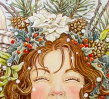 Winter Goddess Sticker