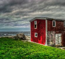 Building on the Sea's Edge by kenmo