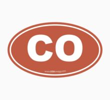 Colorado CO Euro Oval COLORADO Kids Clothes