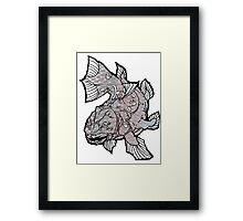COELACANTH (no background) Framed Print