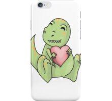 Dino looooove  iPhone Case/Skin