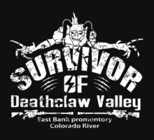 Deathclaw Valley Survivor (White) by GreenHRNET
