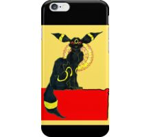 umbreon noir iPhone Case/Skin