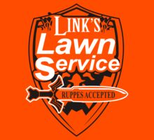 Link's Lawn Service T Shirt Gaming Retro Funny Zelda Tee Game Ocarina nice boy by beardburger