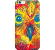 primary color owl iPhone Case/Skin