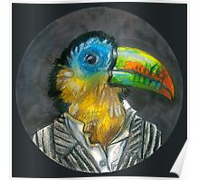 yuppie toucan Poster