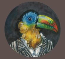 yuppie toucan by Ashley Peppenger