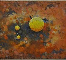 Space Meditation ii by James Lewis Hamilton