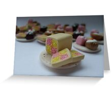 Battenburg for Tea Greeting Card