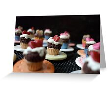 Cupcakes on Parade Greeting Card