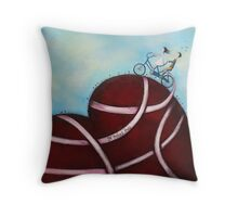It takes two Throw Pillow