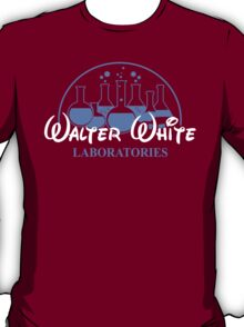 Walter White Laboratories T Shirt Breaking Pinkman Bad AMC Heisenberg Mr White T-Shirt