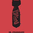 Dr. Strangelove minimalist movie poster by OurBrokenHouse