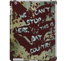 Fear and Loathing in Las Vegas movie poster no 3 iPad Case/Skin
