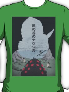 Nausicaä of the Valley of the Wind poster T-Shirt