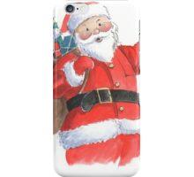 Cute Santa Christmas character iPhone Case/Skin