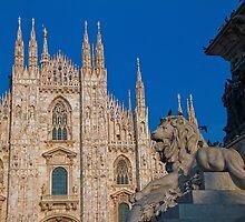 Italy. Milan. Duomo. by vadim19