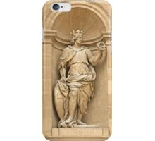 Eglise du Dome - Outside Sculptures 1 © iPhone Case/Skin