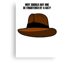 Adventurer Hat Canvas Print