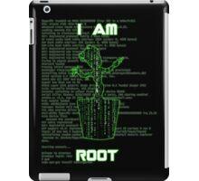 I AM ROOT (Matrix version) iPad Case/Skin
