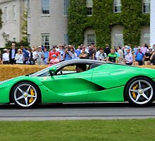 Ferrari LaFerrari - Green by Tom Gregory