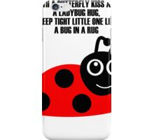 cartoon ladybug iPhone Case/Skin