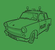 Volkspolizei Trabant 601 by BurrowsImages