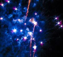 Blue explosions by Tino161