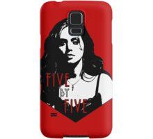 FAITH LEHANE: five by five Samsung Galaxy Case/Skin