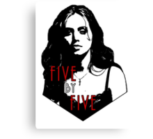 FAITH LEHANE: five by five Canvas Print