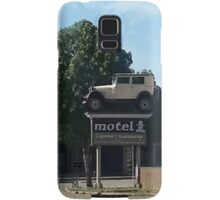 Al Capone's car at the Motel where he stayed during prohibition - Moose Jaw Saskatchewan- PILLOW AND TOTE BAG...ECT.. Samsung Galaxy Case/Skin