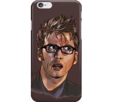 David Tennant - Sketchy Portrait 1 iPhone Case/Skin