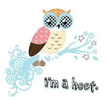 i'm a hoot. Photographic Print