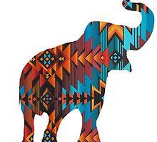Aztec Elephant by mreedd
