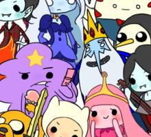 Cast of Ooo Sticker