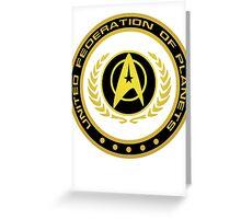 Federation Greeting Card