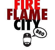 FIRE FLAME CITY BRO (Yoanty) by ericjohanes