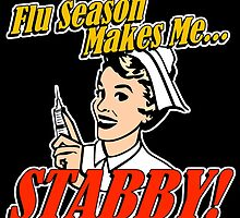 Flu Season Makes Me Stabby by AngryMongo