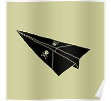 Paper Airplane 36 Poster