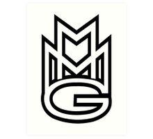 MMG White Art Print