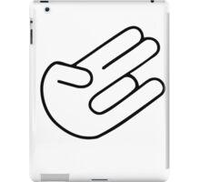 Shocker hand iPad Case/Skin