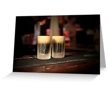 Baby Guinness Greeting Card