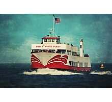 Missed the Boat Photographic Print